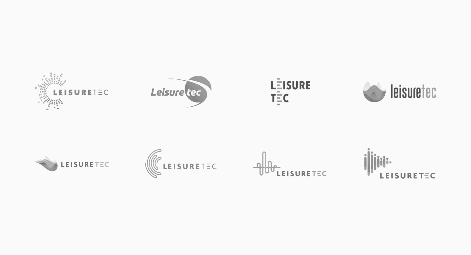 Leisuretec Logo Design Concepts