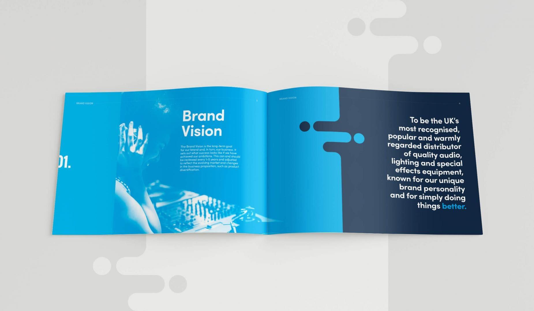 Leisuretec Brands Guidelines Brand Vision Spread
