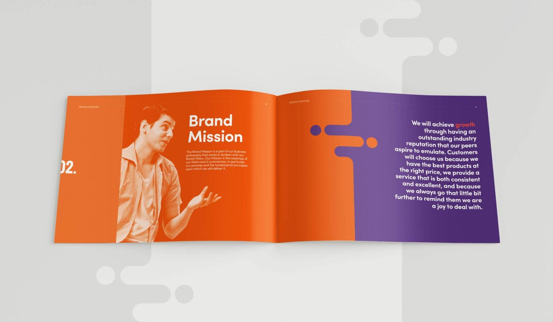 Leisuretec Brands Guidelines Brand Mission Spread