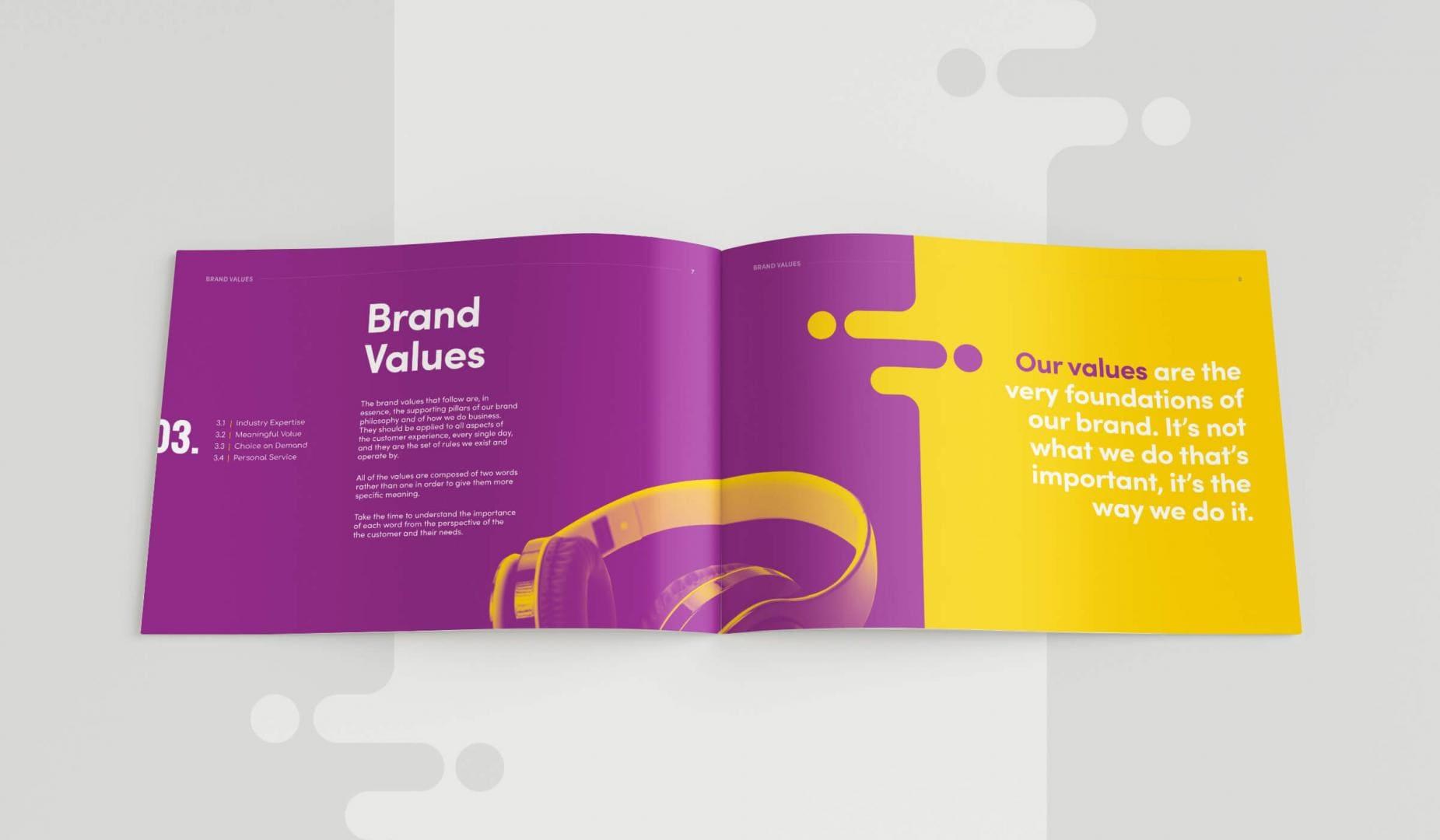 Leisuretec Brands Guidelines Brand Values Spread
