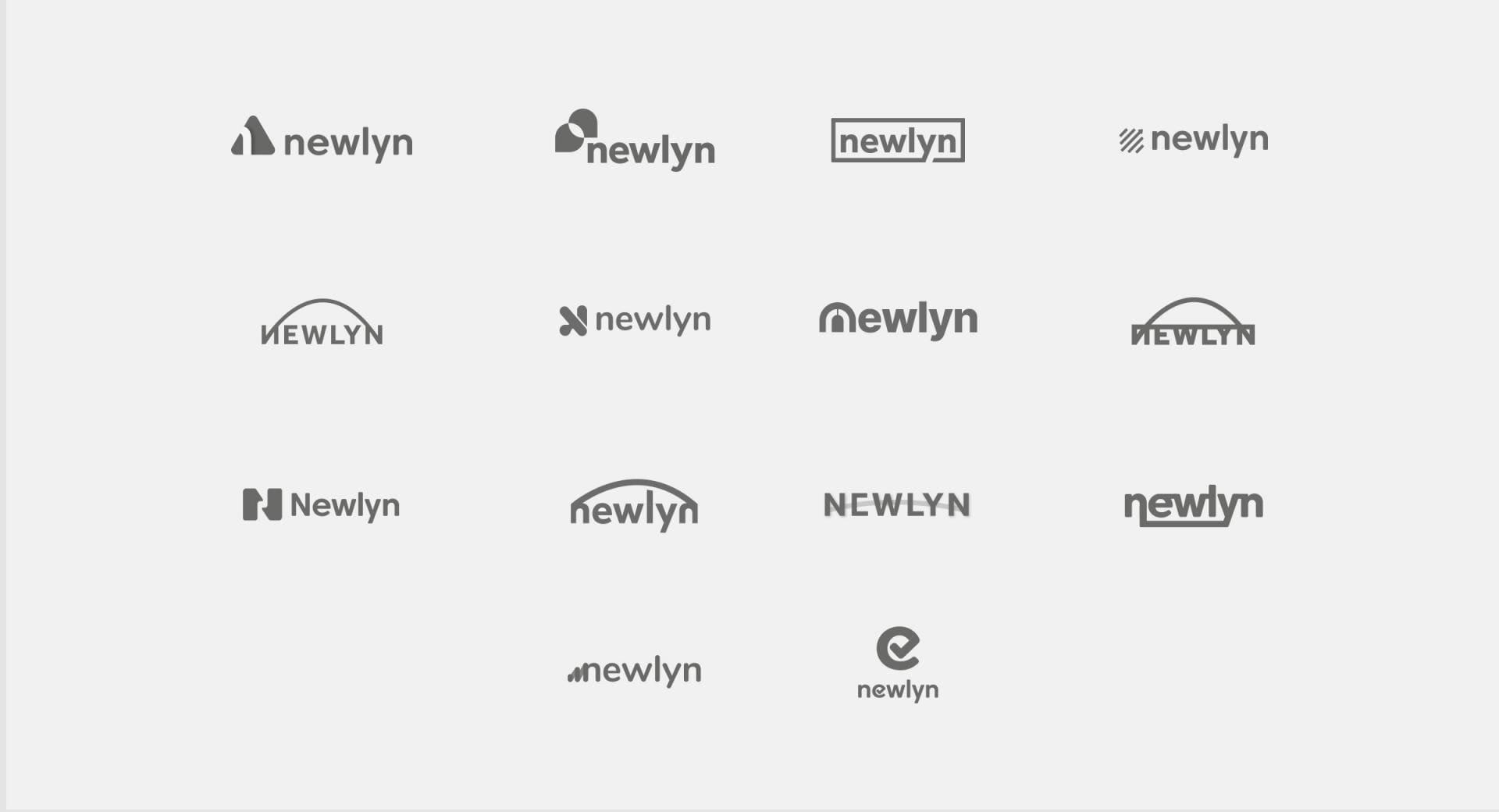 Newlyn logo concepts
