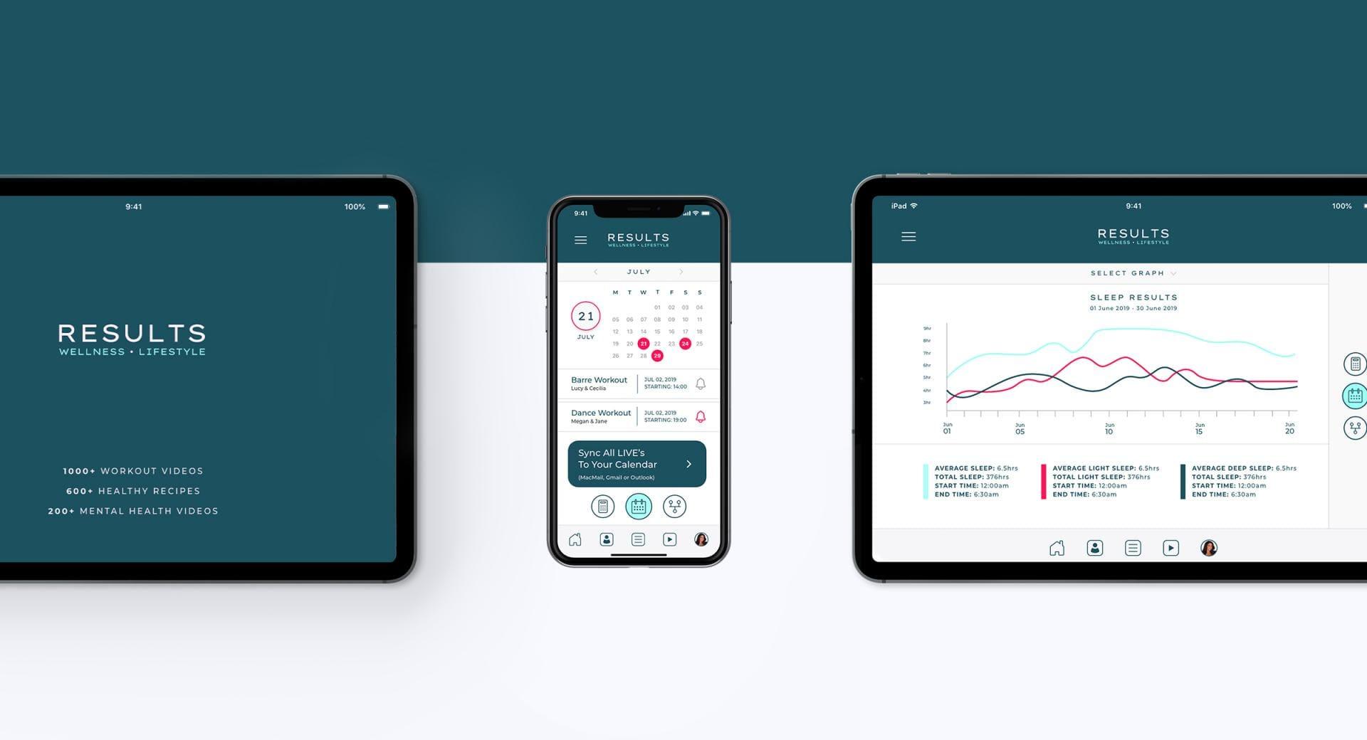 RWL App Design and Reskin