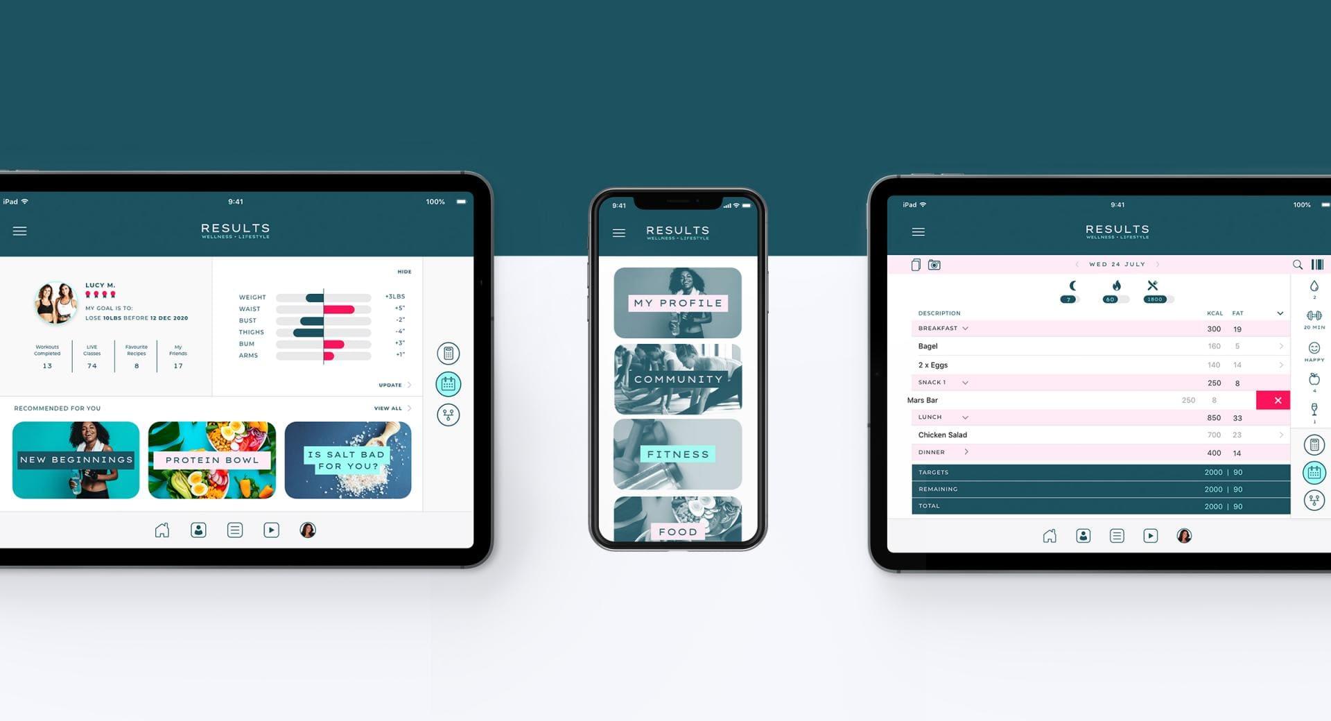 RWL App Design and Reskin Screen 2