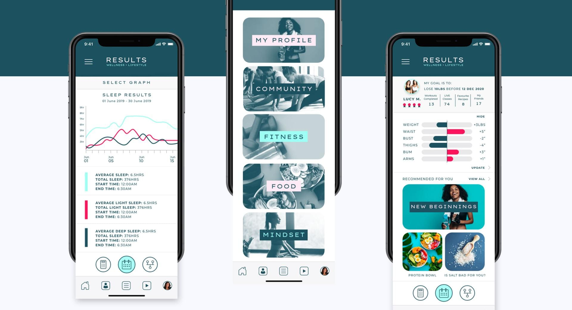 RWL Mobile App Design