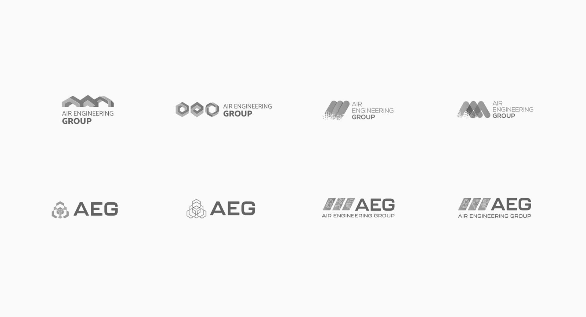 Air Engineering Group Rebrand Concepts