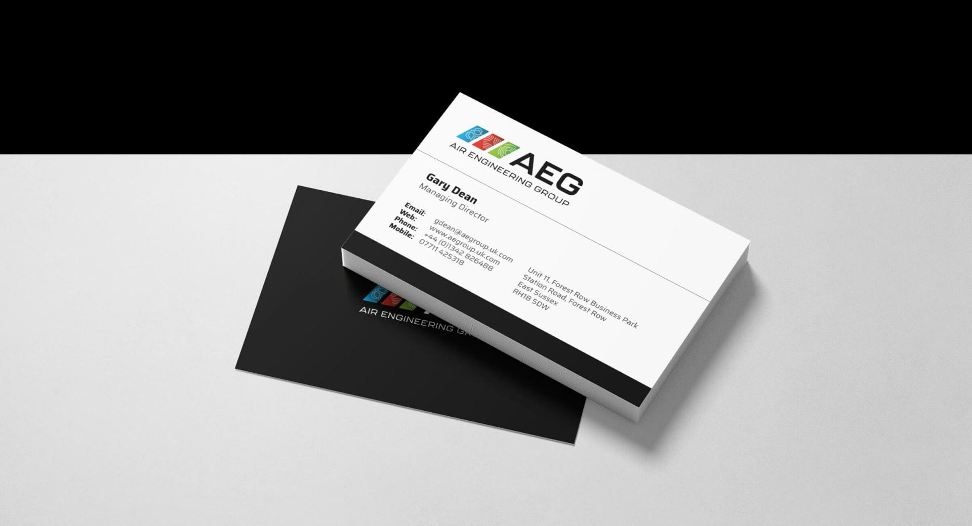 Air Engineering Group Business Cards