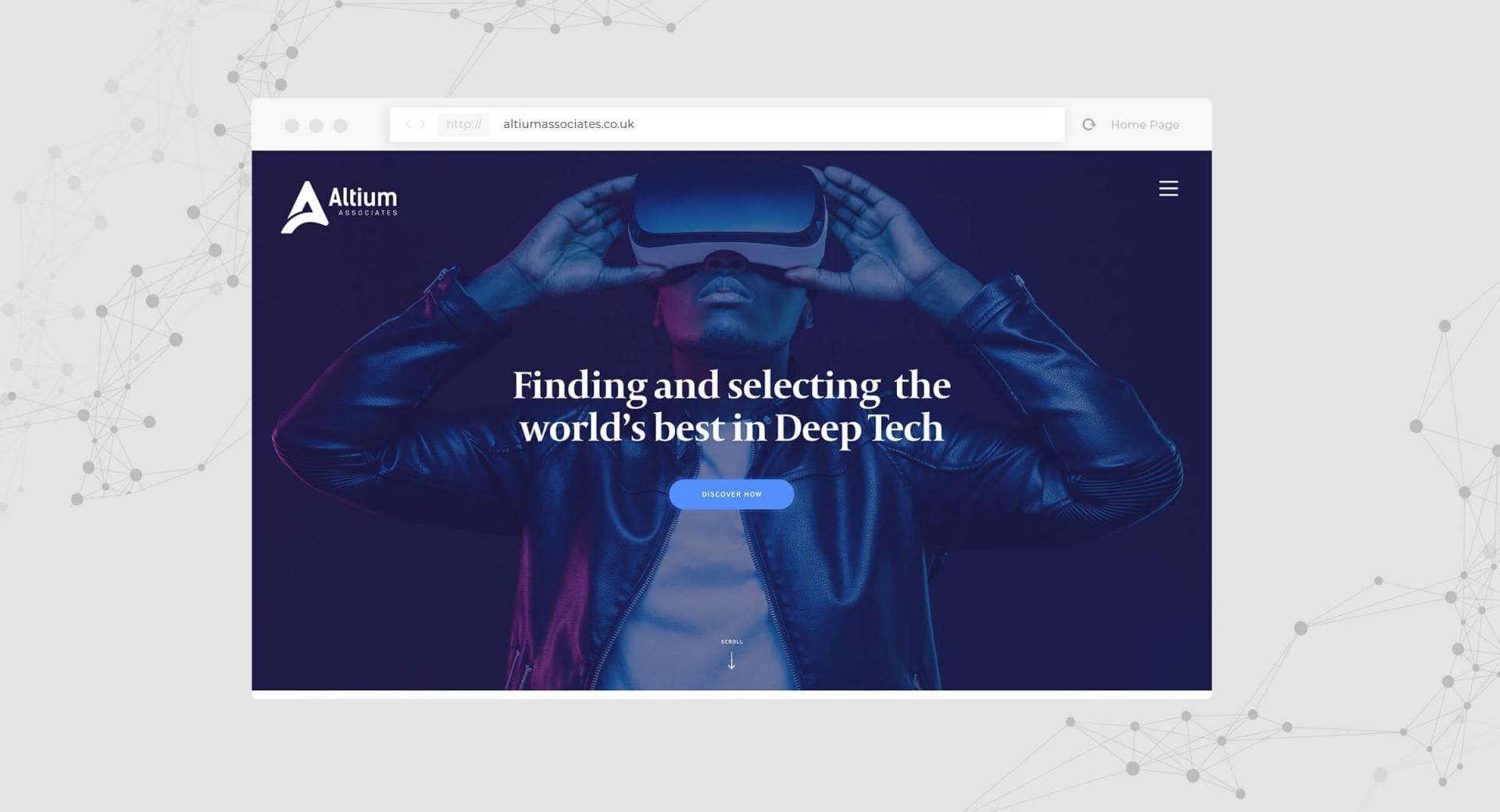 Altium Associates Website Homepage