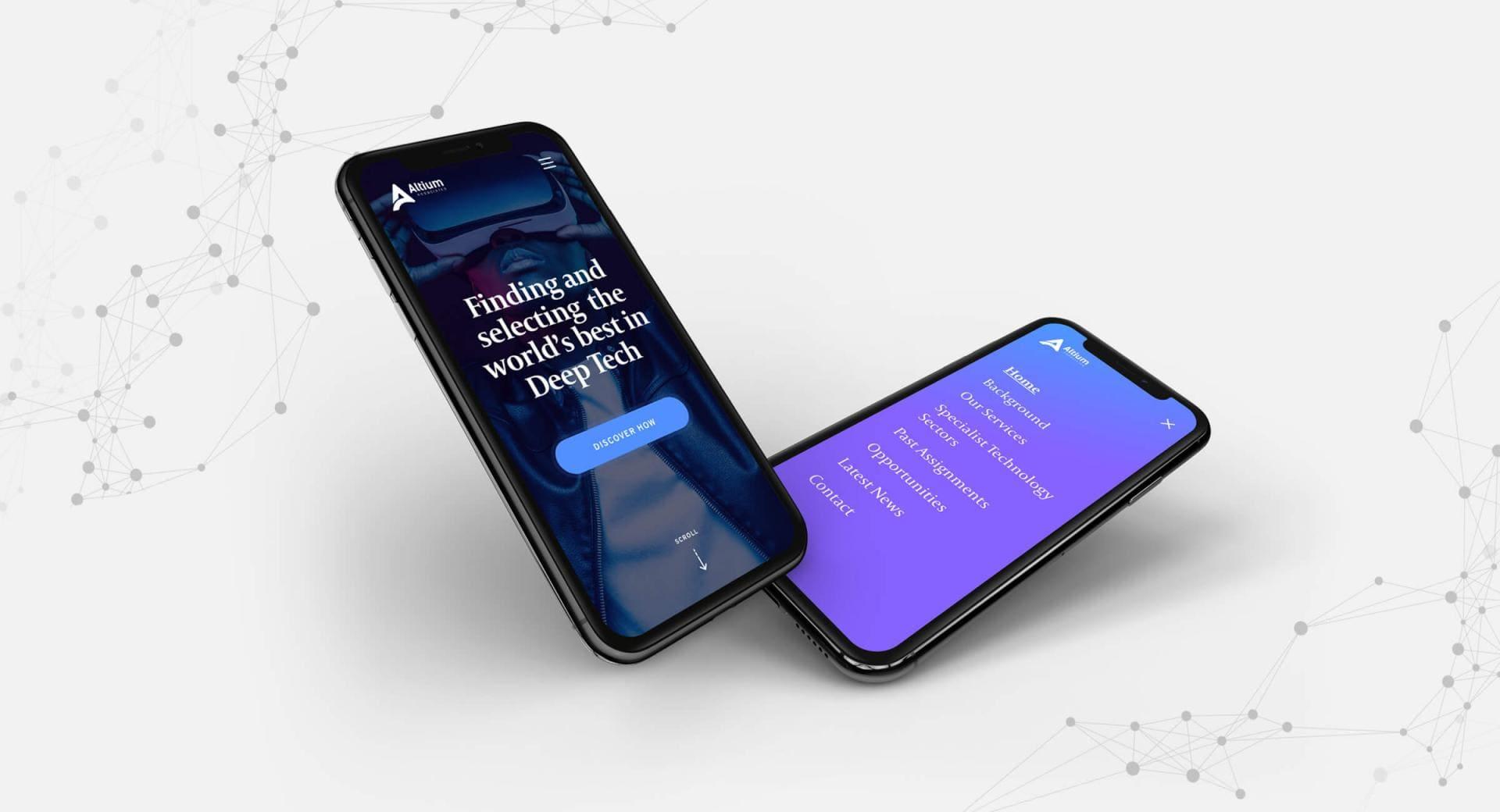 Altium Associates - Responsive Mobile Website